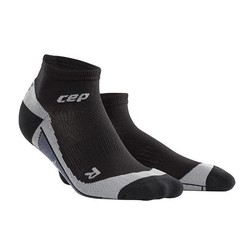 CEP Dynamic+ Low-Cut Mens Compression Socks - Black/Grey