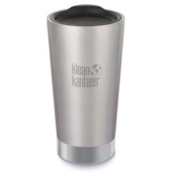 Klean Kanteen 16oz Tumbler Insulated Cup .47L - Brushed Stainless
