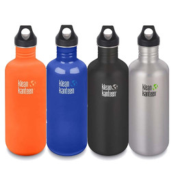 Klean Kanteen 40oz Classic Loop Cap Water Bottle 1.2L