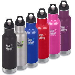 Klean Kanteen 20oz Insulated Classic Loop Cap Water Bottle .6L
