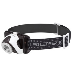 LED Lenser SEO5R Rechargeable Head Lamp with RED LED - 180 lumens