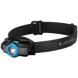 Led Lenser MH5 Compact Rechargeable Headlamp - Black/Blue