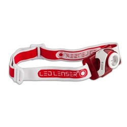LED Lenser SEO5 RED Head Lamp with RED LED - 180 lumens