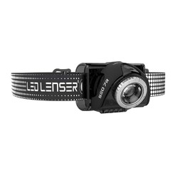 LED Lenser SEO7R Rechargeable Head Lamp with RED LED - 220 lumens Black