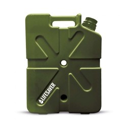 Lifesaver Jerrycan 20,000UF Portable Water Purifier - Army Green
