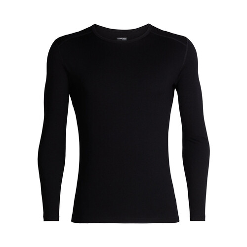Icebreaker 260 Tech Mens Long Sleeve Merino Thermal Crewe