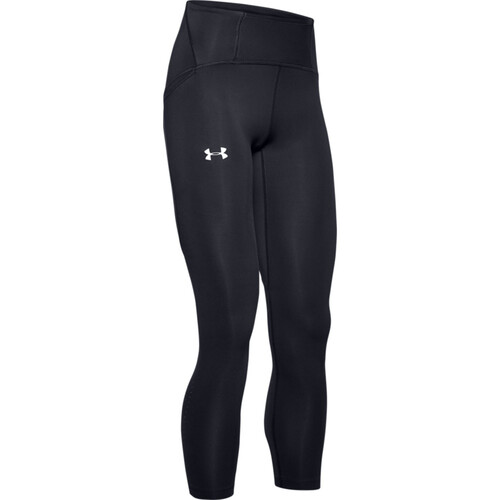 Under Armour Qualifier Speedpocket Perforated Crop Womens Performance Tights