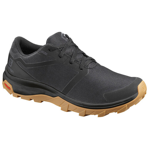 Salomon Outbound GTX Womens Hiking Shoes  - Black/Black/Gum1A