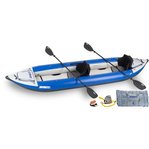 Sea Eagle 420X Explorer 2 Person Inflatable Kayak - Pro Package
