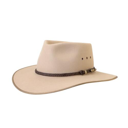7b48f1adf00 Akubra Cattleman Felt Hat - SAND  Hat Size 57cm   7 1 8