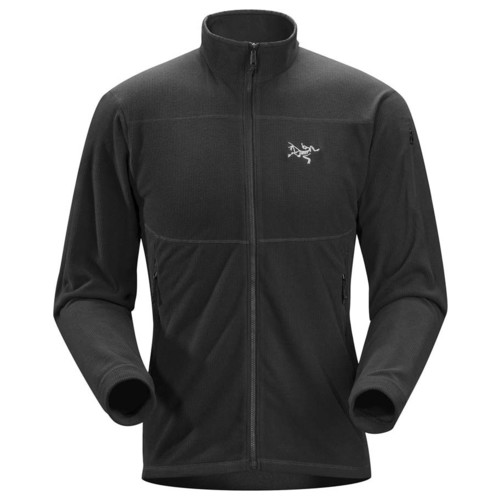 Arcteryx Delta LT Mens Fleece Jacket - Black