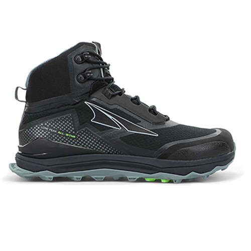 Altra Lone Peak All-Weather Mid Womens Trail Running Shoes - Black