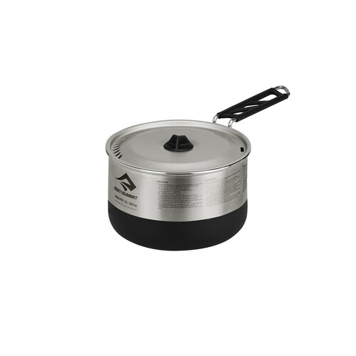 Sea To Summit Sigma 1.2 Litre Stainless Steel Pot - Grey