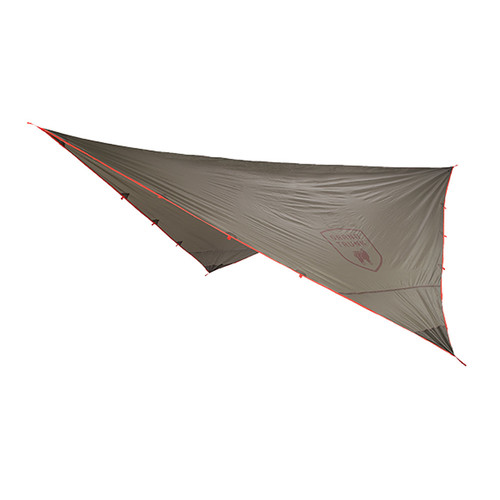 Grand Trunk Abrigo Rain Fly Tarp Shelter - Glacial Gray