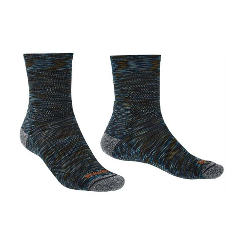 Bridgedale Ultra Light T2 Merino Performance Boot Pattern Mens Socks- Multigreen