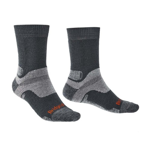 Bridgedale Hike Midweight Performance Mens Socks - Gnmetal