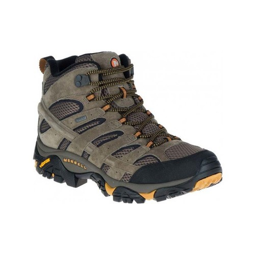 Merrell Moab 2 LTR Mid Goretex Mens Waterproof Hiking Boots - Walnut
