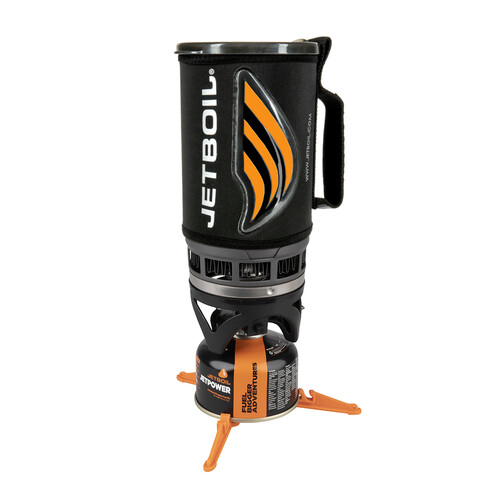 Jetboil Flash Cooking Pot Camp Stove System - Carbon