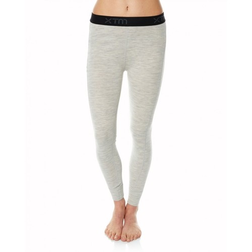 XTM Merino Womens Thermal Pants - Grey Marle