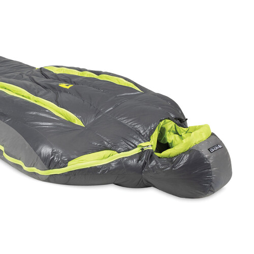 Nemo Kayu 15 Down Mens Mummy Sleeping Bag - Graphite/K