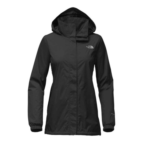 The North Face Resolve Womens Parka Waterproof Jacket - TNF Black/Foilgr