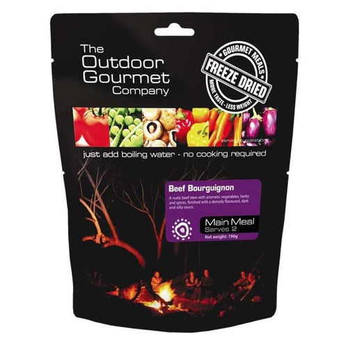 Outdoor Gourmet Beef Bourguignon Double