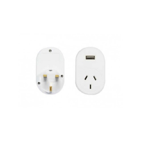 OSA Brands Travel Large Adaptor UK With Usb