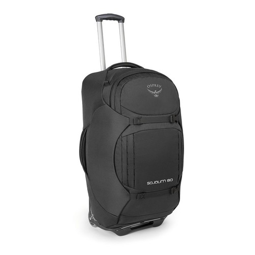 Osprey Sojourn Lightweight 80L Wheeled Luggage Bag - Flash Black