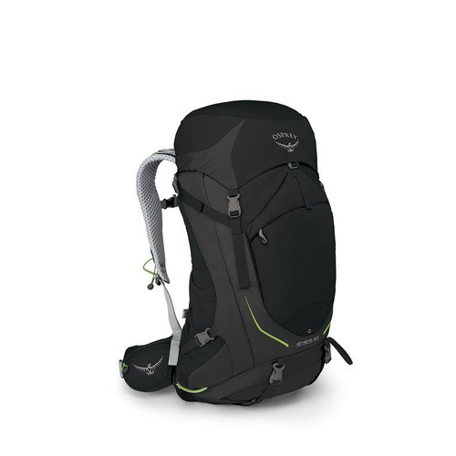 Osprey Stratos 50L Mens Hiking Backpack - Black