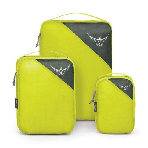 Osprey Ultralight Packing Cube Set - L,M,S - Electric Lime
