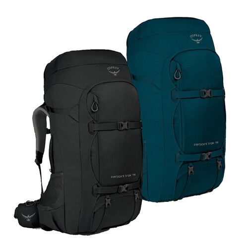 Osprey Farpoint Trek 75L Mens Travel Backpack