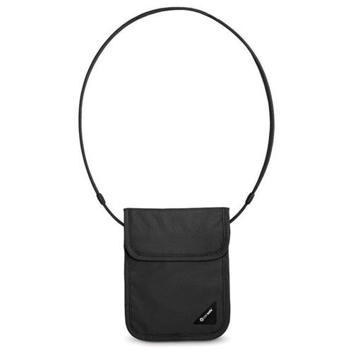 Pacsafe Coversafe X75 Anti-Theft RFID Travel Neck Pouch - Black