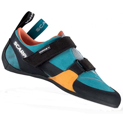 Scarpa Force V Womens Climbing Shoes - Icefall/Mandarin