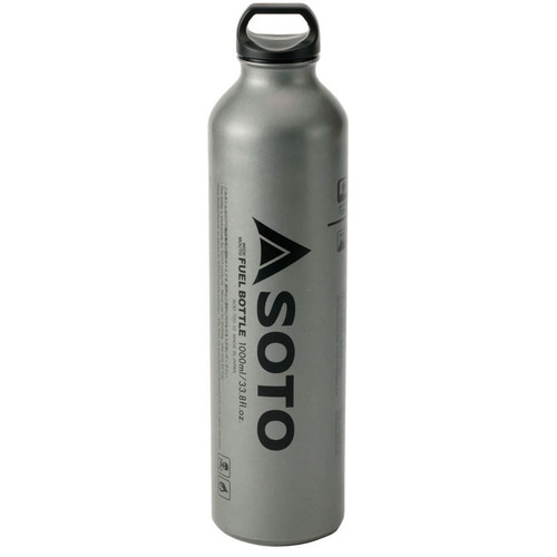 SOTO Muka 1000ml Wide Mouth Fuel Bottle (max fuel level 720ml)