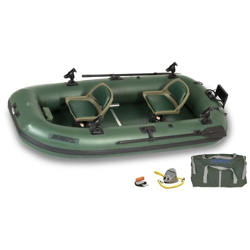 Sea Eagle STS10 Stealth Stalker 10 Inflatable 2 Person Fishing Boat - Pro Package