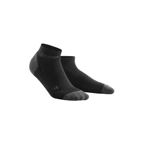 CEP Low Cut 3.0 Women's Compression Socks - Black/Dark Grey